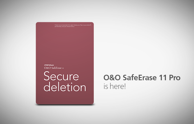 O&O SafeErsee 11 Professional Giveaway